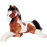 "Cuddle Toys 342 Natches Paint Horse Plush Toy 27""/69 cm Long"