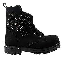 Sanbe 122P 4401 Günlük Termo Taban Kız Çocuk Bot Ayakkabı SİYAH