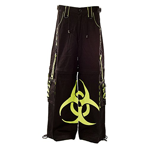 Pantaloni Biohazard Dead Threads (Nero/Giallo) Nero