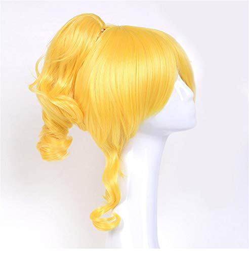 Love Live Gorgeous Set Character Playing Fake Comic Play Origin Wind Golden Single Horsetail