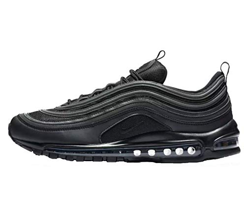 sports shoes c3eae 87314 Nike Air Max 97, Chaussures de Fitness Homme, Noir Black White 001,