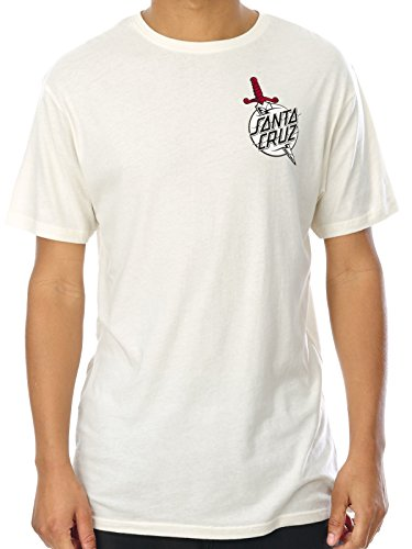 t-shirt-santa-cruz-flash-hand-colour-vintage-bianco-xl-bianco