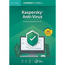 Kaspersky Anti Virus 2019 | 1 Dispositivo | 1 Anno