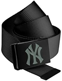MASTERDIS MLB Premium Black Woven Belt Single, grey