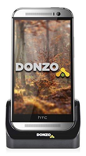 USB Docking-Station|Ladegerät für HTC One M8 von DONZO inkl. micro-USB Daten-Kabel Schwarz ist ein praktisches Zubehör Produkt für jeden Tisch