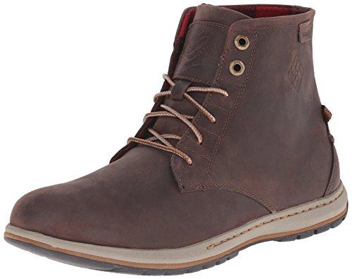 Columbia - Davenport Six, Sneakers da uomo, marrone (231), 40
