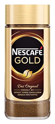 Nescafé Gold Original löslicher Bohnenkaffee (aus erlesenen Kaffeebohnen, koffeinhaltig,...