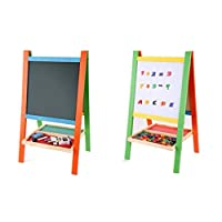 Blackboard Educational Wooden for children , Size M , Multi Color