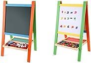 Blackboard Educational Wooden for children , Size M , Multi Color
