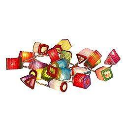 Lichterkette Papier Chinesischen Lampions Leuchte Dekoleuchte Neu Lichter Deko bunt Kind Von Chainupon