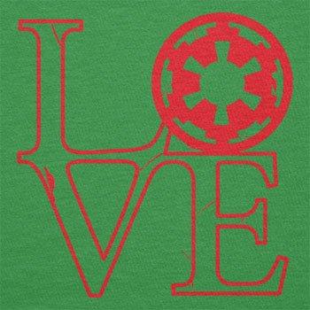 TEXLAB - Empire Love - Herren T-Shirt Grün
