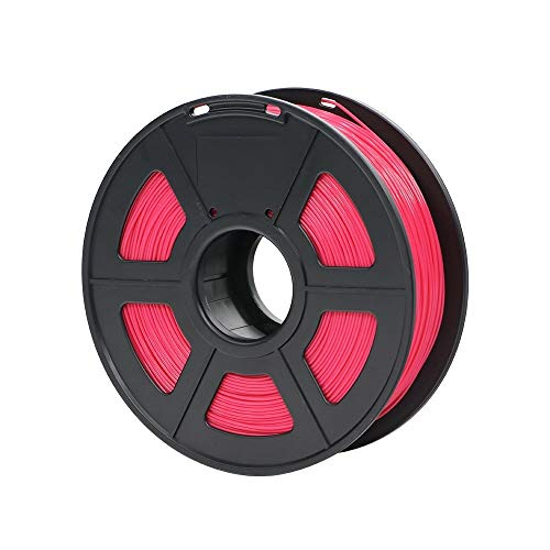 No logo w-shuzhen, materiali di stampa di plastica dei materiali di consumo di plastica del filamento della stampante 3d di pla 1.75mm 1kg 28 colori di generi for voi scelgono (colore : rosso)