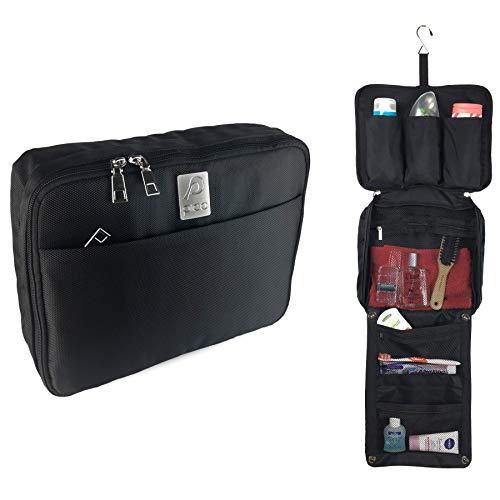 PICO Kulturbeutel - Premium Kulturtasche zum Aufhängen - Hochwertige Waschtasche mit Haken für Damen und Herren - Wasserabweisende Kosmetiktasche für die Reise