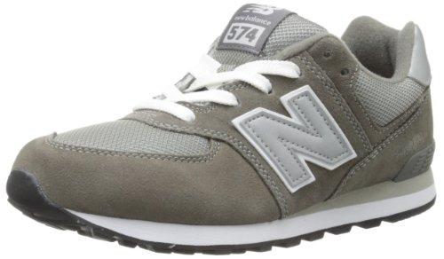 New Balance K 574v1, Baskets Basses Mixte Enfant Gris (Grey)