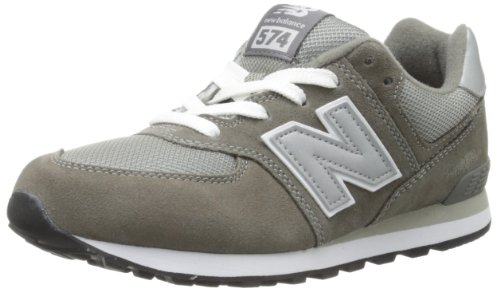New Balance Kinder-Unisex NBKL574GSG Gymnastik Grey/White