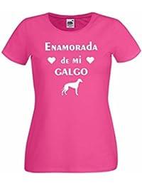 Parent: Camisetas divertidas enamorada de mi galgo - para mujer camiseta