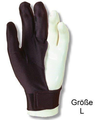 """Billardhandschuh LAPERTI , Größe """"L"""" mit Klettverschluß, für die linke Hand"""