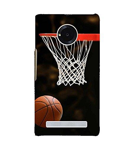 PrintVisa Designer Back Case Cover for YU Yuphoria :: YU Yuphoria YU5010 (Basket Ball A Great Sport)
