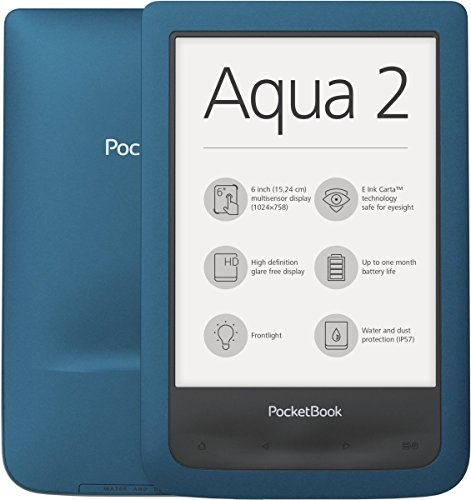 "Pocketbook AQUA 2 6"" Touch screen 8GB Wi-Fi Turchese lettore e-book"