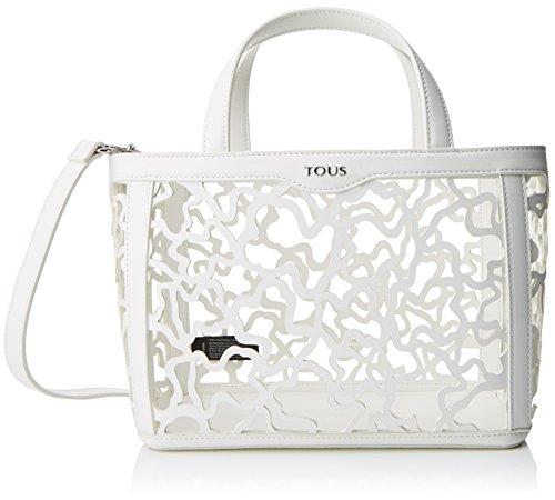 Tous - Kaos Shock Pequeña, Borse Tote Donna Bianco (White)