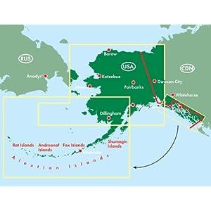 Alaska, mapa de carreteras. Escala 1:1.750.000 (Auto karte)