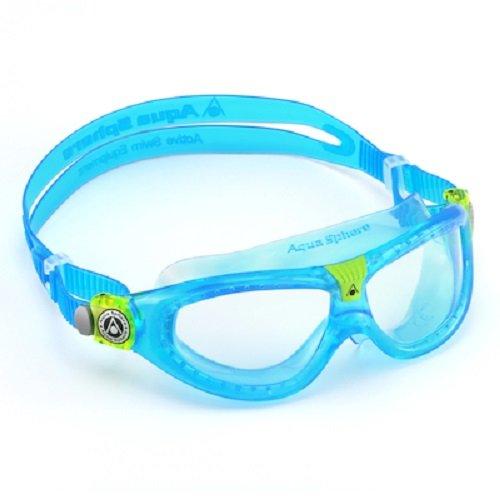 Aqua Sphere Seal Kid 2 Schwimmbrille - Balu (Bleu/Lens Claire), 6-12 Jahre