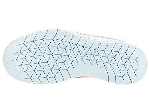 Nike Wmns Free Rn Distance 2, Scarpe Running Donna, Beige Hot Punch/White/Polarized Blue