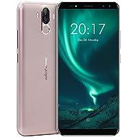 Ulefone Power 3S - Smartphone sbloccato il primo Elio P23 Series 18: 9 con 4 telecamere e Gran batteria telefono cellulare sbloccato, 6.0-Inch in-cell FHD + 2160 * 1080 pixels, Android 7.1, 4 GB RAM + 64 GB ROM, Batteria 6350 mAh, Fotocamera da 13 + 5MP/8 + 5MP, MTK mt6763 Procesor Octa-Core 64-bit 2.0 GHz CPU, Dual SIM, colore: nero/oro