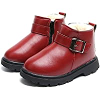 Morbuy Invierno Botas Bebé Engrosamiento Botas de Nieve Zapatos para Niño Niña Invierno e Mantente Caliente