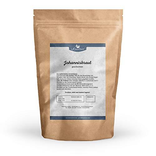 Krauterie Johanniskraut in sehr hochwertiger Qualität, frei von jeglichen Zusätzen, als Tee (Hypericum perforatum) - 500 g