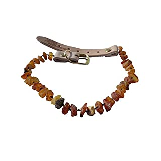 Amber Necklace for your dog Superflex 66-71cm AMBER NECKLACE FOR DOGS Amberdog®