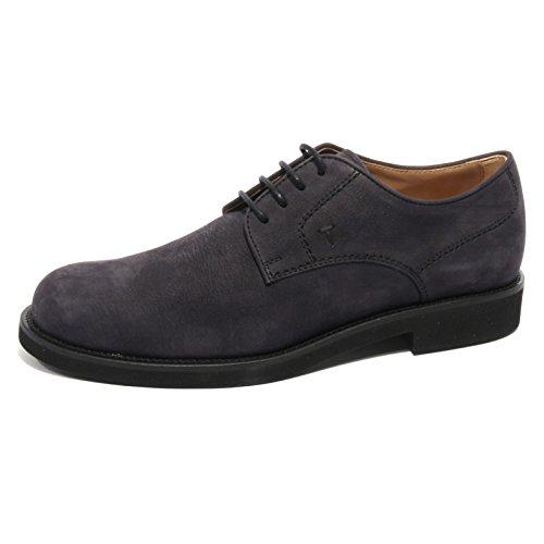 b2048-scarpa-uomo-tods-derby-scarpe-classiche-blu-shoes-men-7