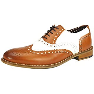 London Brogues Gatsby Tan / White UK 9 / EU 43