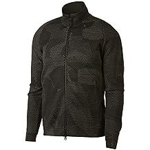 Nike Sportswear Tech Fleece, Chaqueta para Hombre, Negro/Negro, S