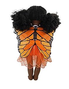 "DREAMY DRESS-UPS 70831 ""Mariposa, Monarch (Danaus Plexippus) alas para muñecas de 46 cm"
