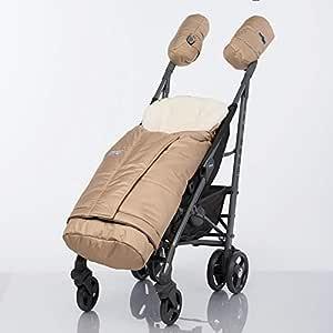 L Atelier Alpine Baby Kleinkind Fußsack Mitwachsend Mit Schafsfell Gefüttert Für Kinderwagen Buggy Und Schlitten Auch Als Spieldecke Und Krabbelmatte Geeignet Baby