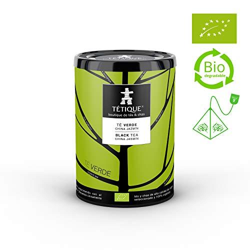 TÉTIQUE Té Verde Jazmín orgánico certificado BIO