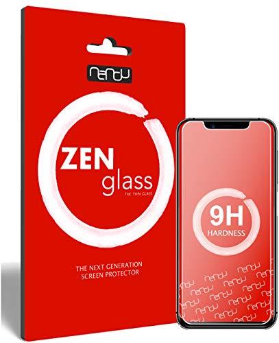 ZenGlass (2 Stück Flexible Glas-Folie für Umidigi One Pro Panzerfolie I Bildschirm-Schutzfolie 9H I (Kleiner Als Das Gewölbte Bildschirm)
