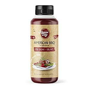 Leckere Barbecue Sauce ohne Kalorien für gesundes Kochen | Rauchige Low Carb...
