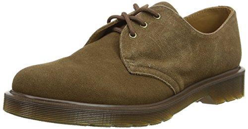 Dr. Martens 1461 Suede, chaussures à lacets mixte adulte Marron - Brown Suede