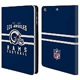 Head Case Designs Offizielle NFL Helm-Buchdruckerkunst 2018/19 Los Angeles Rams Brieftasche Handyhülle aus Leder für iPad Mini 1 / Mini 2 / Mini 3