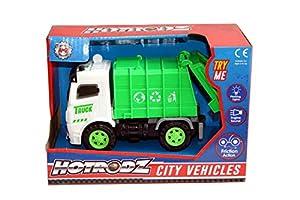 A to Z 6390 - Camión de Basura, Color Verde