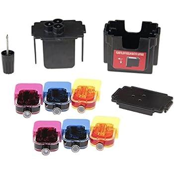 easy de recharge kit de recharge pour cartouches hp 304 color remplissage adaptateur 2. Black Bedroom Furniture Sets. Home Design Ideas