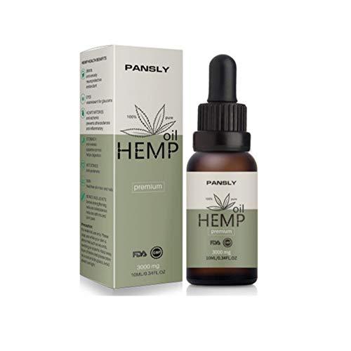 Hanföl, Naturreines Aromatherapie öl Pflanze Ätherisches Öl Kaltgepresst Hanfsamen Öl Hanf Öl Für Gesicht, Körperpflege Massage Spa, Haare