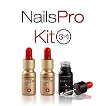 Simon & Tom – NailsPro kit 3 in 1. Premium Fungal Nail Treatment suitable for finger and toe nails. 10 ml