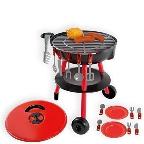 Mochtoys 5907442110210 Barbecue Kugelgrill mit viel Zubehör für Kinder