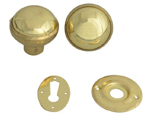 YALE P405 Rimknob Polished Brass Finish
