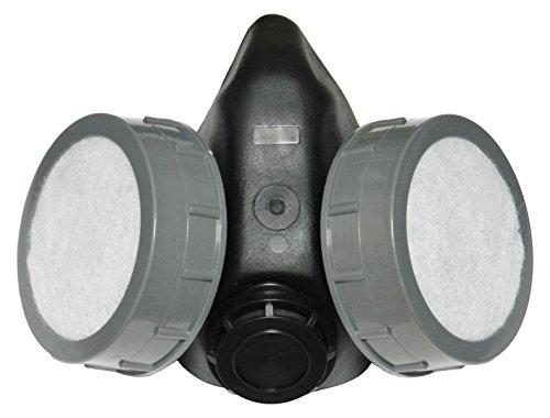 bamax bx-mask Schnorchel Profi mit 2Filter, grau/schwarz