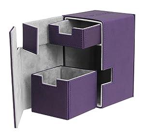 Ultimate Guard FlipŽnŽTray Deck Case 100+ Caja de Cartas Tamaño Estándar XenoSkin Violeta