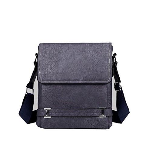 Yy.f Mode Atmosphäre Business Aktentasche Herren Ledertasche Schlanke Klassische Praktische Office Bag Computer-Tasche Reisetasche. Mehrfarbig Brown